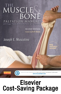 cover image - The Muscle and Bone Palpation Manual with Trigger Points, Referral Patterns and Stretching - Elsevier E-Book on VitalSource and Evolve package (Retail Access Cards),2nd Edition