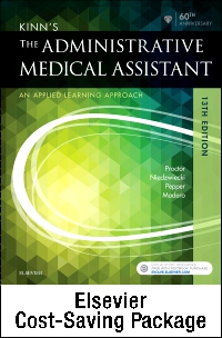 cover image - Kinn's The Administrative Medical Assistant - Text and Study Guide Package,13th Edition