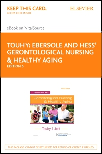 cover image - Ebersole and Hess' Gerontological Nursing & Healthy Aging - Elsevier eBook on VitalSource (Retail Access Card),5th Edition