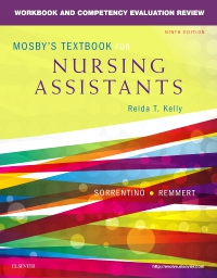 cover image - Workbook and Competency Evaluation Review for Mosby's Textbook for Nursing Assistants - Elsevier eBook on VitalSource,9th Edition