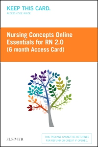 cover image - Nursing Concepts Online Essentials for RN 2.0 (6 month Access Card) BY SUBSCRIPTION ONLY,2nd Edition