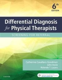 cover image - Differential Diagnosis for Physical Therapists - Elsevier eBook on VitalSource,6th Edition