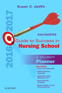 cover image - Saunders Guide to Success in Nursing School, 2016-2017 - Elsevier eBook on VitalSource,12th Edition