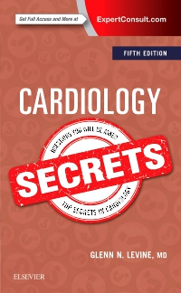 cover image - Cardiology Secrets,5th Edition