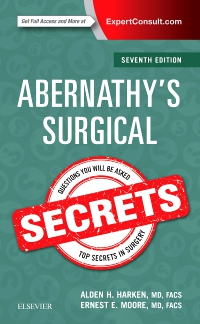 cover image - Abernathy's Surgical Secrets,7th Edition