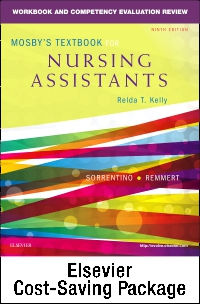 cover image - Mosby's Textbook for Nursing Assistants (Soft Cover Version) - Text, Workbook, and Mosby's Nursing Assistant Video Skills: Student Online Version 4.0 (Access Code) Package,9th Edition