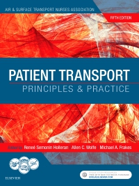 cover image - Evolve Resources for Patient Transport,5th Edition