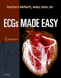 cover image - Evolve Resources for ECGs Made Easy,6th Edition