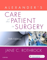 cover image - Alexander's Care of the Patient in Surgery,16th Edition