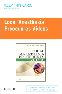 cover image - PART-Local Anesthesia Procedures Videos (eComm)