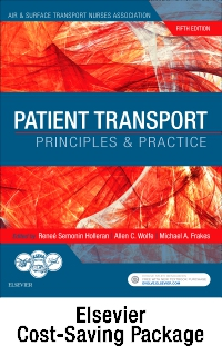 cover image - Patient Transport - Elsevier E-Book on VST + Evolve (Retail Access Cards),5th Edition