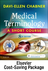 cover image - Medical Terminology Online with Elsevier Adaptive Learning for Medical Terminology: A Short Course (Access Card and Textbook Package),8th Edition