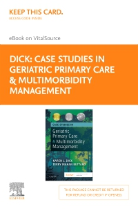 cover image - Case Studies in Geriatric Primary Care & Multimorbidity Management - Elsevier eBook on VitalSource (Retail Access Card)