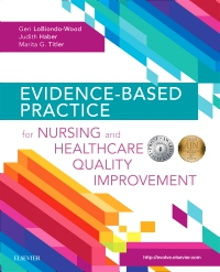 cover image - Evidence-Based Practice for Nursing and Healthcare Quality Improvement - Elsevier eBook on VitalSource