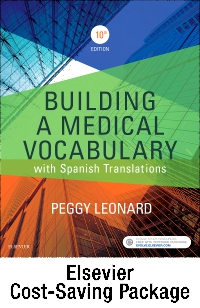 cover image - Medical Terminology Online with Elsevier Adaptive Learning for Building a Medical Vocabulary (Access Card and Textbook Package),10th Edition