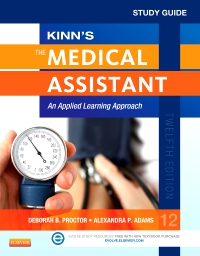 cover image - PART - Study Guide for Kinn's The Medical Assistant -  Elsevier eBook on VitalSource,12th Edition