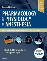 cover image - Pharmacology and Physiology for Anesthesia,2nd Edition