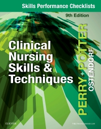 cover image - Skills Performance Checklists for Clinical Nursing Skills & Techniques,9th Edition