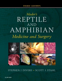 cover image - Mader's Reptile and Amphibian Medicine and Surgery - Elsevier eBook on VitalSource,3rd Edition