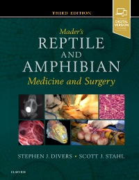cover image - Mader's Reptile and Amphibian Medicine and Surgery,3rd Edition