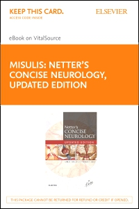 cover image - Netter's Concise Neurology Updated Edition Elsevier eBook on VitalSource (Retail Access Card)