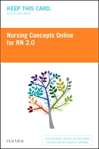 cover image - Nursing Concepts Online for RN 2.0 (12 month Access Card) BY SUBSCRIPTION ONLY,2nd Edition