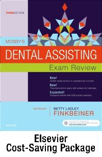 cover image - Mosby's Dental Assisting Exam Review - Elsevier eBook on VitalSource + Evolve Access (Retail Access Cards),3rd Edition