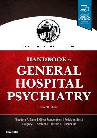 cover image - Massachusetts General Hospital Handbook of General Hospital Psychiatry,7th Edition