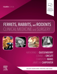 cover image - Ferrets, Rabbits, and Rodents,4th Edition