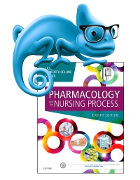 cover image - Elsevier Adaptive Learning for Pharmacology and the Nursing Process,8th Edition