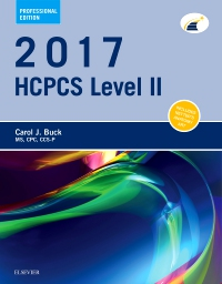 cover image - 2017 HCPCS Level II Professional Edition - Elsevier eBook on VitalSource