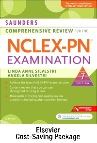 cover image - Saunders Comprehensive Review for the NCLEX-PN® Examination - Elsevier eBook on VitalSource + Evolve Access (Retail Access Cards),7th Edition