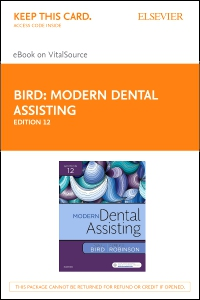 cover image - Modern Dental Assisting - Elsevier eBook on VitalSource (Retail Access Card),12th Edition