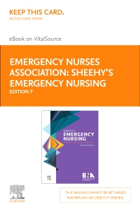 cover image - Sheehy's Emergency Nursing - Elsevier eBook on VitalSource (Retail Access Card),7th Edition