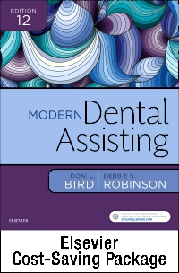 cover image - Dental Assisting Online for Modern Dental Assisting (Access Code, Textbook, Workbook, and Boyd: Dental Instruments 6e Package),12th Edition