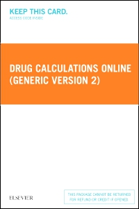 cover image - Drug Calculations Online (Generic Version 2) - Access Card