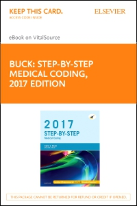 cover image - Step-by-Step Medical Coding, 2017 Edition - Elsevier E-Book on VitalSource (Retail Access Card)