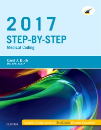 cover image - Step-by-Step Medical Coding, 2017 Edition - Elsevier eBook on VitalSource
