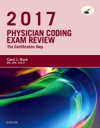 cover image - Physician Coding Exam Review 2017 - Elsevier E-Book on VitalSource