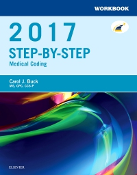 cover image - Workbook for Step-by-Step Medical Coding, 2017 Edition - Elsevier eBook on VitalSource
