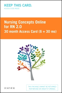 cover image - Nursing Concepts Online for RN 2.0 30 month Access Card (6 + 30 month) BY SUBSCRIPTION ONLY,2nd Edition