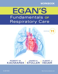 cover image - Workbook for Egan's Fundamentals of Respiratory Care - Elsevier eBook on VitalSource,11th Edition