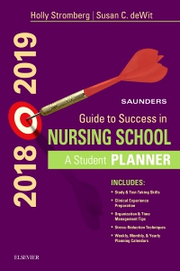 cover image - Saunders Guide to Success in Nursing School, 2018-2019,14th Edition