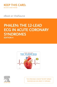 cover image - The 12-Lead ECG in Acute Coronary Syndromes - Elsevier eBook on VitalSource (Retail Access Card),4th Edition