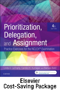 cover image - Prioritization, Delegation, and Assignment - Elsevier eBook on VitalSource + Evolve Access (Retail Access Cards),4th Edition