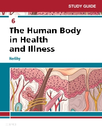 cover image - Study Guide for The Human Body in Health and Illness - Elsevier eBook on VitalSource,6th Edition