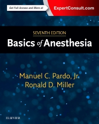 cover image - Basics of Anesthesia - Elsevier eBook on VitalSource,7th Edition