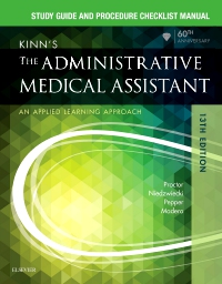 cover image - Study Guide for Kinn's The Administrative Medical Assistant - Elsevier E-Book on VitalSource,13th Edition