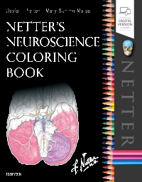 cover image - Netter's Neuroscience Coloring Book