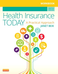 cover image - Workbook for Health Insurance Today - Elsevier eBook on VitalSource,5th Edition